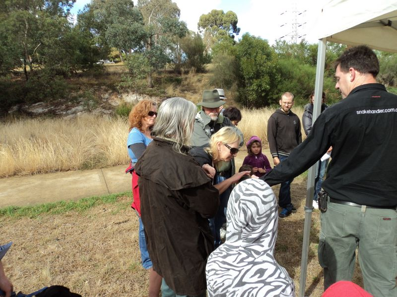2014 March: Snake Handler Awareness Session